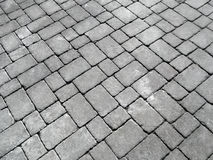 Close up of cobblestones on an old English road. Stock Photo