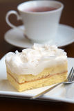 Close up coconut cake Royalty Free Stock Photography