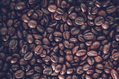 Close up coffee beans Royalty Free Stock Photos
