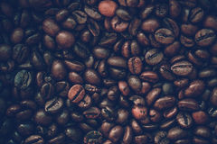 Close up coffee beans Royalty Free Stock Photo