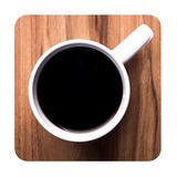 Close up of a coffee cup Stock Photography