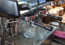 Close up coffee machine. Stock Photography