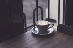 Close-up of Coffee on Table Royalty Free Stock Photography
