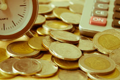 Close up coin Royalty Free Stock Photography