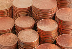 Close up coins money Royalty Free Stock Images