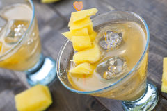 Close up of cold beverages Stock Image