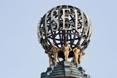 Close up of Colesium Globe London Royalty Free Stock Images