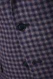 Close-up collar men`s jacket. Close up suit of businessman stock images