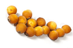 Close up of Collection of Natural Ripe Dates Royalty Free Stock Photos
