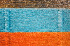 Color corrugated paper background Royalty Free Stock Image