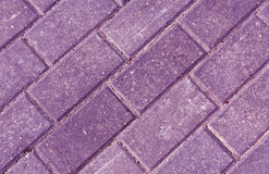 Close-up of color pavement cobble stones. Stock Images