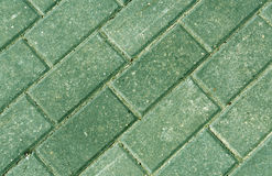 Close-up of color pavement cobble stones. Royalty Free Stock Photos