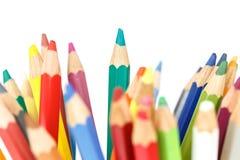 Close up color pencil Stock Images