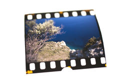 Color Slide. Close up of a Color Slide stock images