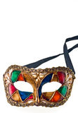 Close-up of colored venetisn mask. Stock Image