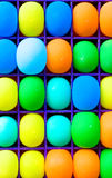 Close-up colorful baloon background Stock Images