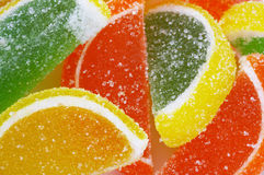 Close-up of Colorful Candies Stock Images