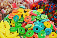 Close up of colorful candies Royalty Free Stock Photo