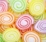 Close-up of colorful candy Royalty Free Stock Photo