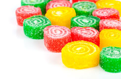 Close-up of colorful fruit candy Stock Image