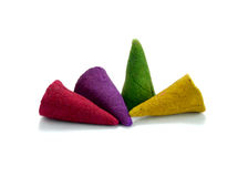 Close up colorful incense  Royalty Free Stock Photography