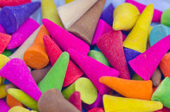 Close up of  colorful incense Royalty Free Stock Images