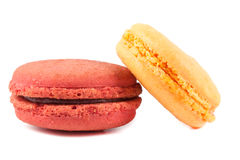 Close up colorful macaron Stock Photos