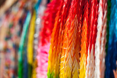 Close up of colorful origami Royalty Free Stock Photography