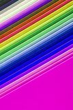 Closeup of colorful paper Royalty Free Stock Photography