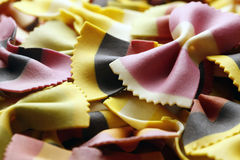 Close-up of colorful pasta Stock Photos