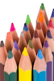 Close Up Colorful Pencils Stock Image