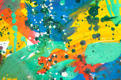 Close up of colorful simply abstract Royalty Free Stock Photography