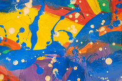 Close up of colorful simply abstract Stock Photography
