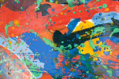 Close up of colorful simply abstract Royalty Free Stock Image