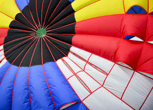 Close up colorful stripes of parachute. Royalty Free Stock Photos