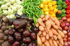 Close up of colorful vegetables Stock Photography