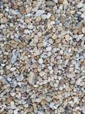 Close up colorido do cascalho imagem de stock