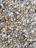 Close up colorido do cascalho foto de stock royalty free