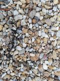 Close up colorido do cascalho foto de stock