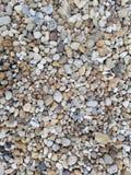 Close up colorido do cascalho fotografia de stock