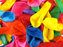 Close up of colourfull party balloons Stock Photos
