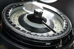 Close-up compass Stock Images