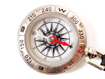 Close up of a compass Royalty Free Stock Image