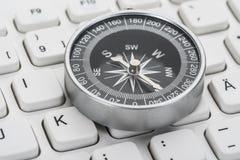 Close-up of compass Stock Photos