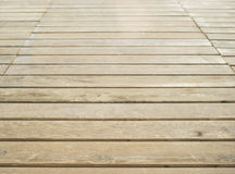 Close up of composite decking. Wood planks. Kiln dried wooden lumber texture background. Stock Photos