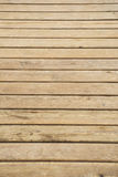 Close up of composite decking. Wood planks. Kiln dried wooden lumber texture background. Royalty Free Stock Photography