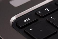 Close-up computer key esc - escape Stock Photography