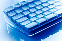 Close-up of computer keyboard Stock Photo