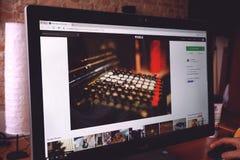 Close-up of Computer Keyboard Royalty Free Stock Image