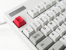 Close-up of Computer Keyboard Stock Images